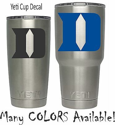 NCAA Duke Blue Devils University for YETI Tumbler 20 30 Ozark RTIC Basketball