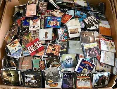 Assorted CDs Lot of 100 Different Types of ArtistsBands ALL FAIR-MINT CONDITION