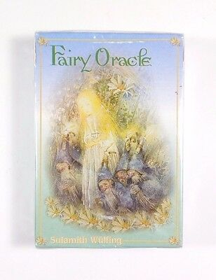 Fairy Oracle Cards By Sulamith Wulfing New Sealed 1999 Bluestar Communications