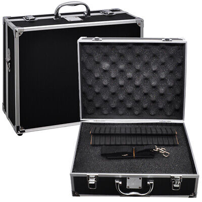 Xit Hard-sided Photographic Equipment Case with Pick - Pluck Foam Small Black