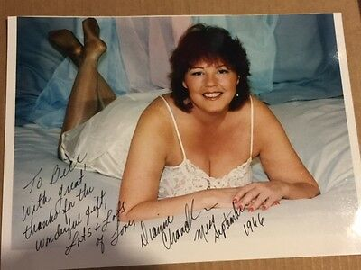 Dianne Chandler Autographed Photo 1966 Miss September Playboy Playmate - Rare
