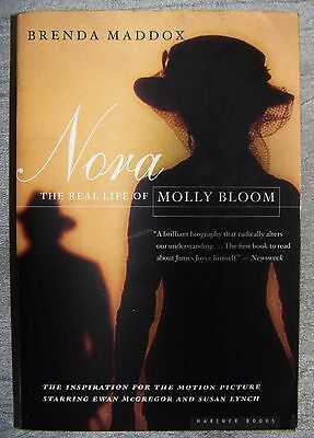 Nora The Real Life of Molly Bloom by Brenda Maddox Paperback book 2000