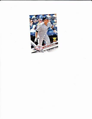 2017 Topps All-Star Rookie Gary Sanchez NM New York Yankees