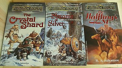 The Icewind Dale  Trilogy - books 1-3 paperback R-A- SALVATORE