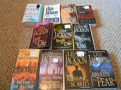 Lot of 11 Paperback Books By Lisa Jackson