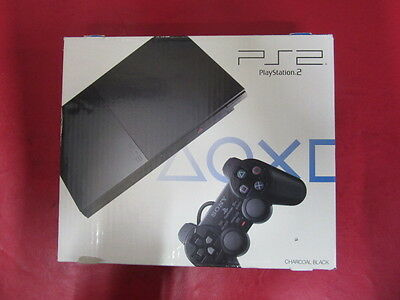 PlayStation 2 SCPH-90000 Charcoal Black Console JP GAME-
