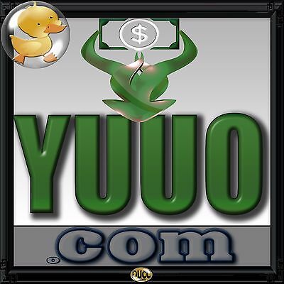 YUUO-com LLLL 4Letter Premium Domain You Owe Perfect For CollectionsBudget