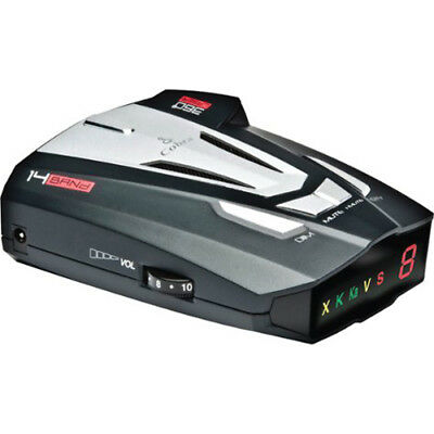 Cobra XRS9370 High-Performance RadarLaser Detector with 360-Degree Protection
