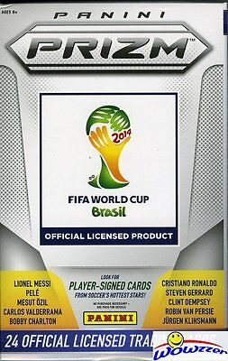 World Cup 2014 Panini Prizm HOBBY Hanger Box-on FIRE Look for 2000 Autographs