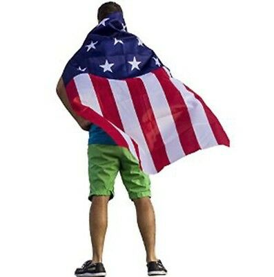 American Flag Cape Fourth Of July 4th Stars Stripes Red White Blue Independence