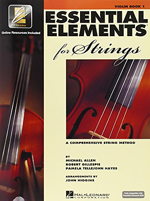 Essential Elements for Strings Book 1 with EEi Violin Paperback