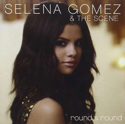 New SELENA GOMEZ - THE SCENE - Round - Round CD Single 2-Tracks