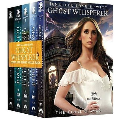 Ghost Whisperer The Complete Series Seasons 1-5 DVD Brand New Sealed