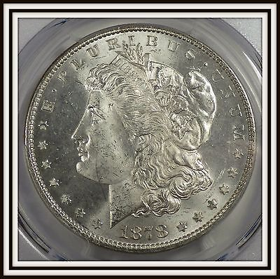 1878 7TF Reverse of 1878 Morgan Silver Dollar PCGS UNC Details