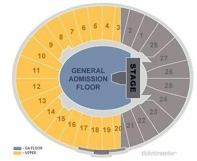2 Tickets to Metallica at the Rose Bowl 72917