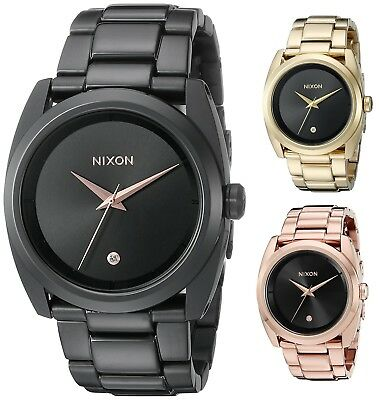 Nixon Womens Queenpin 36mm IP Stainless Steel - Choice of Color