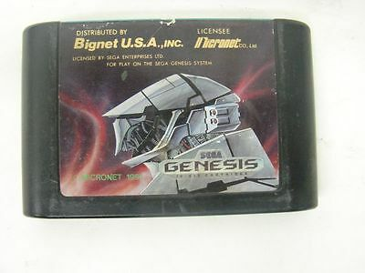 Heavy Nova Vintage Game Cartridge for Sega Genesis