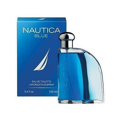 Nautica Blue By Nautica 3-3  3-4 oz EDT Spray New In Box Sealed Cologne For Men