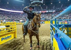 NFR National Finals Rodeo Tickets PLAZA SEATS Friday Dec 8 2017