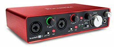 NEW IN BOX FOCUSRITE SCARLETT 2i4 2nd GEN USB AUDIO INTERFACE with PRO TOOLS