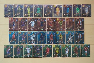 PANINI FIFA 365 ADRENALYN 2018 XL POWER UP GOAL STOPPER KEY PLAYER TOP MASTER