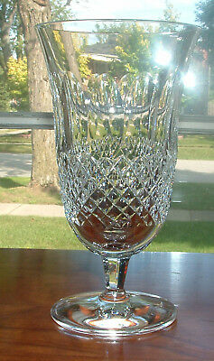 WATERFORD COLLEEN STEMMED ICED TEA  6 12   MINT CONDITION