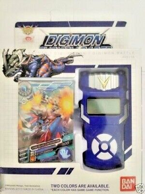 Bandai Digimon Xros Wars BLUE Fusion Loader Digivice English Ver- Date Link NEO