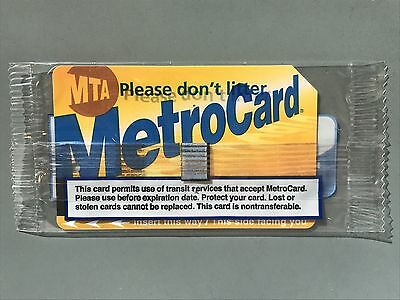 New York City MTA Metrocard 52-38 Good for 20 trips with bonus 55 TOTAL VALUE