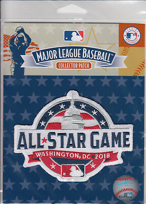 2018 Major League Baseball All Star Game MLB Licensed Collector Patch Nationals
