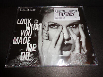 TAYLOR SWIFT Look What You Made Me Do 2017 CD MAXI SINGLE  Brand New Sealed