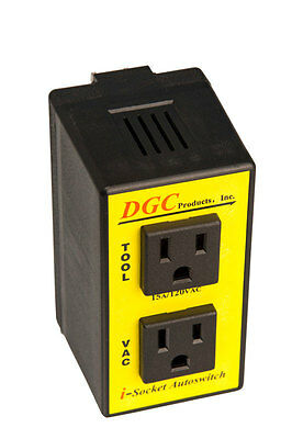 DGC Products IS110M  I-Socket Autoswitch 15 amp