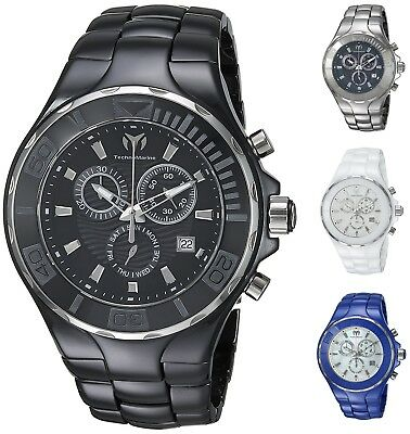 Technomarine Mens Cruise 45mm Ceramic Chronograph Watch - Choice of Color