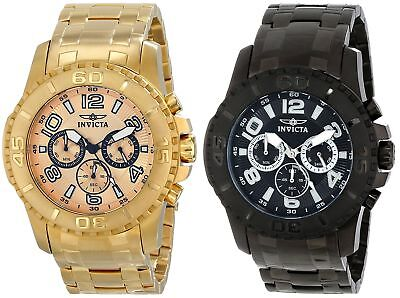 Invicta Mens Pro Diver Chronograph 48mm Watch - Choice of Color - 15022 15025