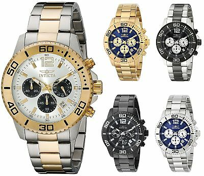 Invicta Mens Pro Diver Chronograph 45mm Watch - Choice of Color