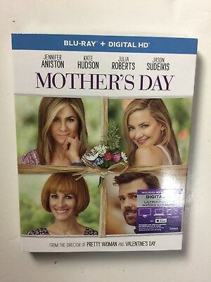 Mothers Day Blu-ray Disc 2016 Digital Copy UltraViolet NEW wslipcover