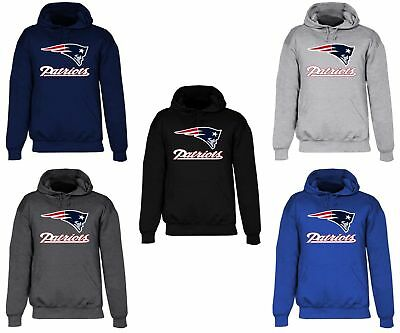 New England Patriots Hooded Sweat Shirt Cotton Hoodie Adult Sweatshirt NE Men