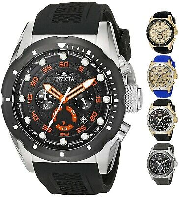 Invicta Mens Speedway Chronograph 50mm Watch - Choice of Color