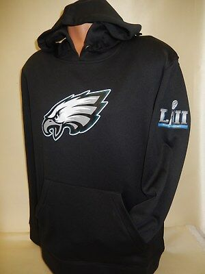 8122 MENS Team Apparel PHILADELPHIA EAGLES Super Bowl 52 LII Hooded Sweatshirt