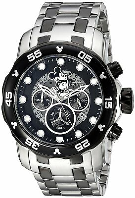 Invicta 23767 Disney Limited Edition Mens 48mm Chronograph Stainless Black Dial