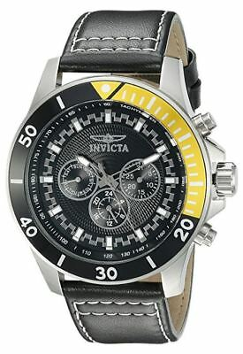 Invicta 21479 Pro Diver Mens 48mm Chronograph Stainless Steel Black Dial Watch