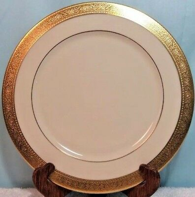 Lenox Westchester Gold Encrusted Presidential ServiceChargerBuffet Plate 11-5
