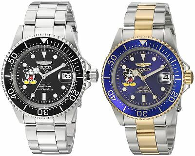 Invicta Disney Limited Edition Mens 40mm Automatic Watch - Choice of Color