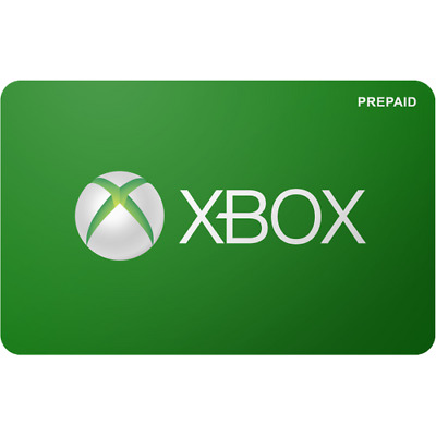 xBox Prepaid Gift Card 100 Value Only 90-00 Free Shipping