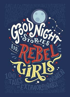 Good Night Stories for Rebel Girls by Elena Favilli - Francesca Cavallo Hardcvr