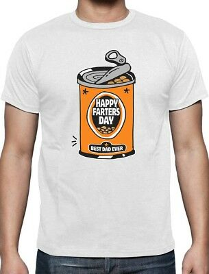 Happy Farters Day Best Dad Ever Funny Fathers Day Gift T-Shirt Father Gifts