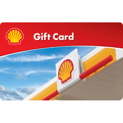 Shell Gas Card Gift Card 100 Value Only 98-00 Free Shipping