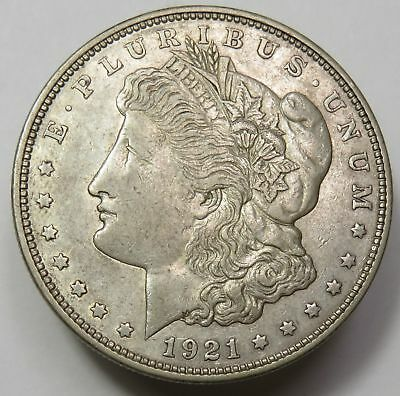 1 1921 MORGAN SILVER DOLLAR VG-XF CONDITION MINT VARIES SILVER INVESTMENT