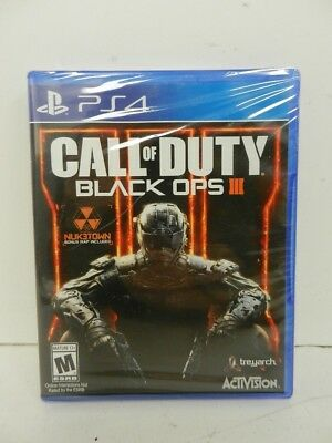 Sony Playstation 4 PS4 Video Game-Call of Duty Black Ops III-NewSealed