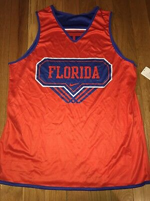 NEW NIKE Florida Gators Basketball Reversible Practice Jersey size Mens L NWT