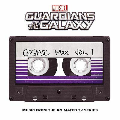 Marvels Guardians Of The Galaxy Cosmic Mix Vol- 1 Cassette New Music